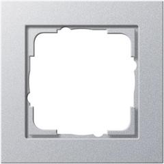 Gira E2 kleur aluminium