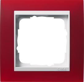 Afdekramen Gira Event Opaque donkerbruin