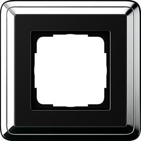 Gira ClassiX chroom-zwart