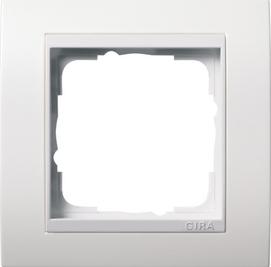 Afdekramen Gira Event zuiver wit glanzend met zuiver wit glanzend