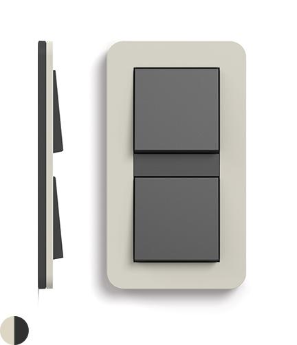 Zand Soft-Touch/antraciet