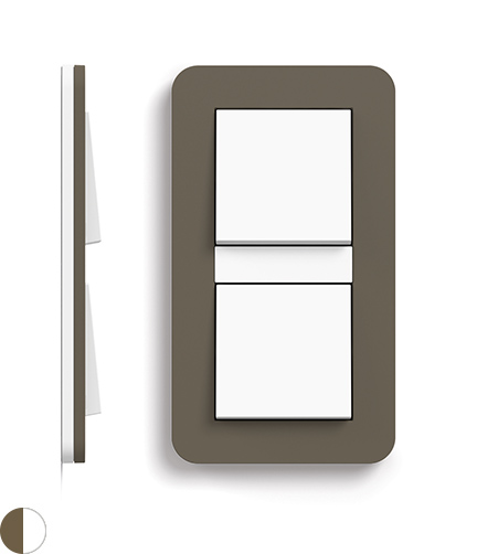 Umbra Soft-Touch/zuiver wit glanzend